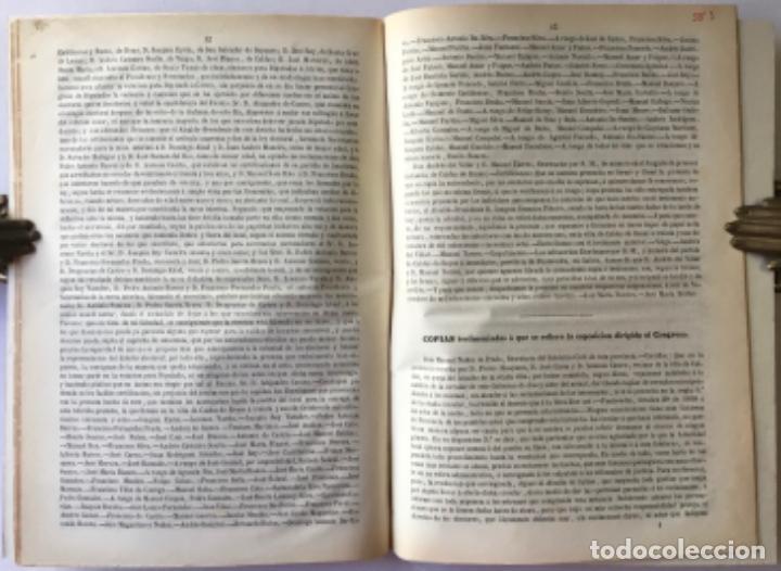 Libros antiguos: DOCUMENTOS, CUYOS ORIGINALES SE HALLAN EN LA SECRETARÍA DEL CONGRESO, RELATIVOS A LA ELECCION DE... - Foto 2 - 243971620