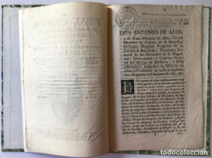 Libros antiguos: REAL CEDULA DE SU MAGESTAD, Y SEÑORES DEL CONCEJO, ESTABLECIENDO ALCALDE DE QUARTEL Y DE BARRIO... - Foto 2 - 243991435