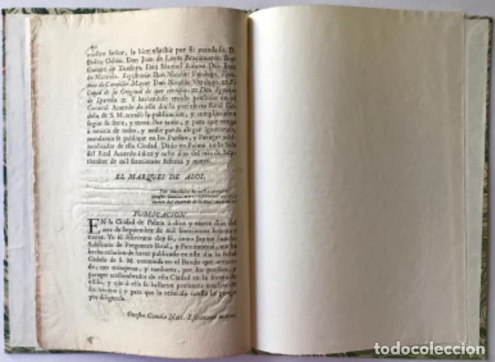 Libros antiguos: REAL CEDULA DE SU MAGESTAD, Y SEÑORES DEL CONCEJO, ESTABLECIENDO ALCALDE DE QUARTEL Y DE BARRIO... - Foto 4 - 243991435