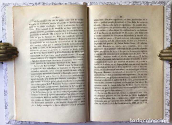Libros antiguos: EXPOSICION DIRIGIDA Á LAS CORTES CONSTITUYENTES.... Á fin de que aquellas no sean sorprendidas por.. - Foto 2 - 244001640