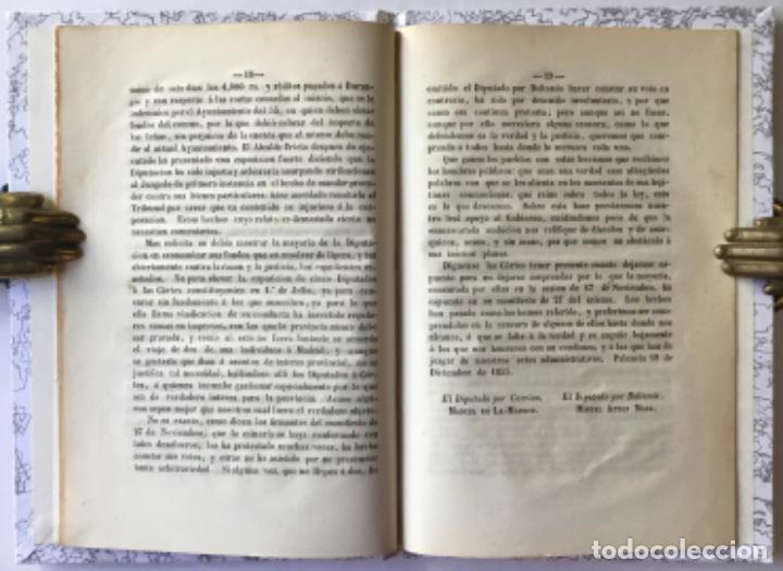 Libros antiguos: EXPOSICION DIRIGIDA Á LAS CORTES CONSTITUYENTES.... Á fin de que aquellas no sean sorprendidas por.. - Foto 3 - 244001640