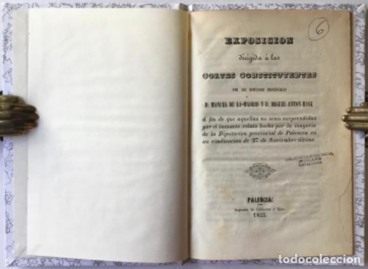 EXPOSICION DIRIGIDA Á LAS CORTES CONSTITUYENTES.... Á FIN DE QUE AQUELLAS NO SEAN SORPRENDIDAS POR.. (Libros Antiguos, Raros y Curiosos - Pensamiento - Política)