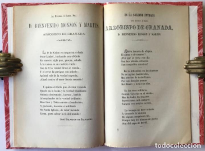 Libros antiguos: MEMORIA DEL RECIBIMIENTO HECHO AL EXCMO. É ILMO. SR. DR. D. BIENVENIDO MONZON Y MARTIN, ARZOBISPO... - Foto 2 - 244002400