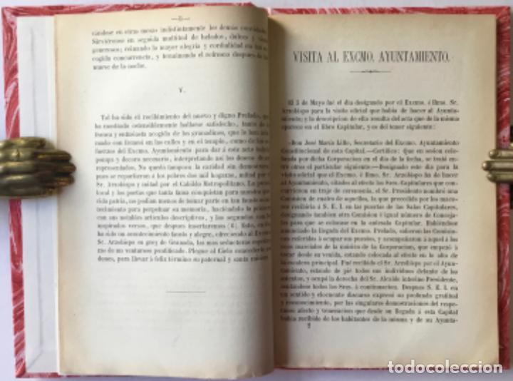 Libros antiguos: MEMORIA DEL RECIBIMIENTO HECHO AL EXCMO. É ILMO. SR. DR. D. BIENVENIDO MONZON Y MARTIN, ARZOBISPO... - Foto 4 - 244002400