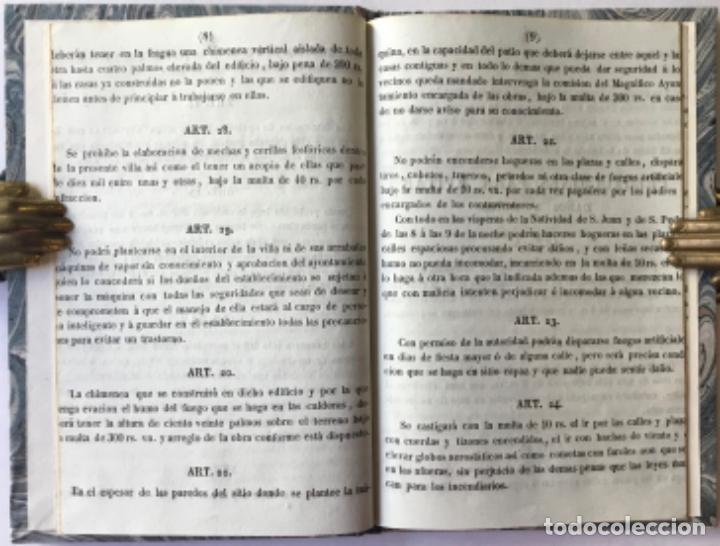 Libros antiguos: REGLAMENTO DE POLICÍA URBANA, APROBADO POR EL M.I.S. GEFE SUPERIOR POLÍTICO DE LA PROVINCIA, EN 9... - Foto 3 - 244005840