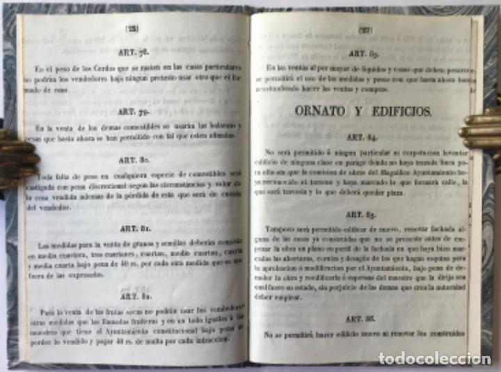Libros antiguos: REGLAMENTO DE POLICÍA URBANA, APROBADO POR EL M.I.S. GEFE SUPERIOR POLÍTICO DE LA PROVINCIA, EN 9... - Foto 4 - 244005840