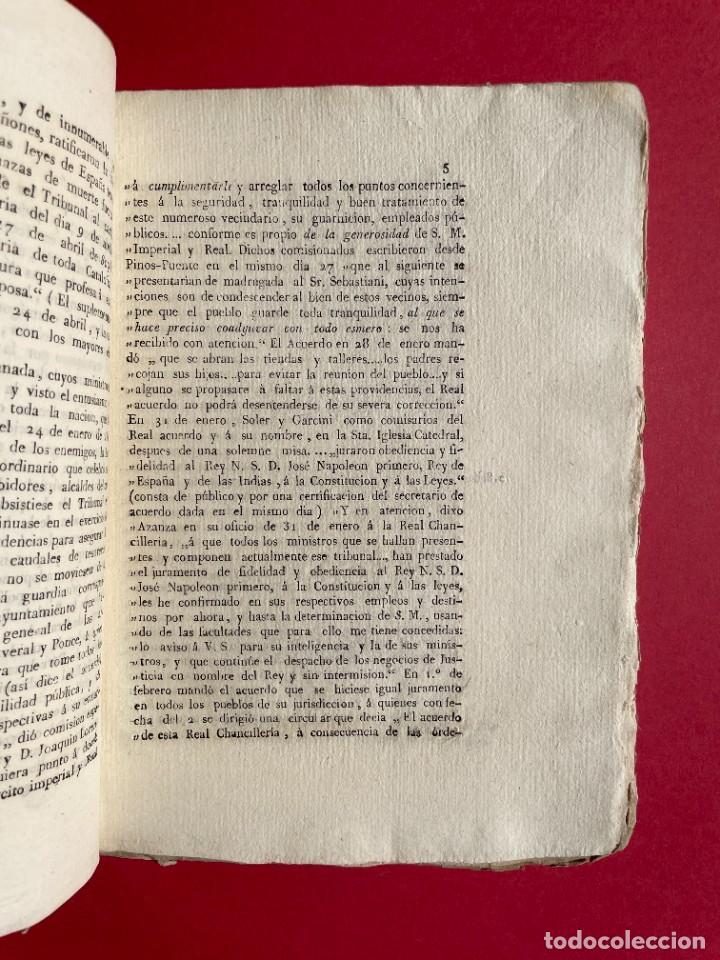 Libros antiguos: 1814 - COTEJO DE LA AUDENCIA DE BARCELONA CON LA CHANCILLERIA DE GRANADA - GUERRA DE INDEPENDENCIA - Foto 4 - 244872595