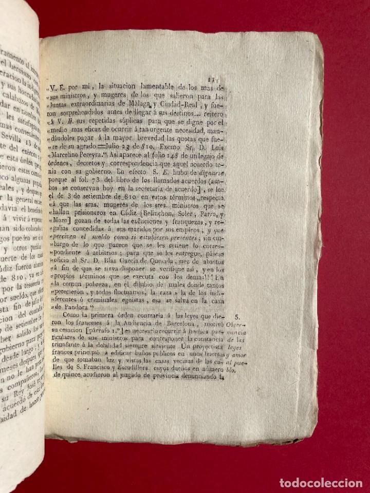 Libros antiguos: 1814 - COTEJO DE LA AUDENCIA DE BARCELONA CON LA CHANCILLERIA DE GRANADA - GUERRA DE INDEPENDENCIA - Foto 5 - 244872595