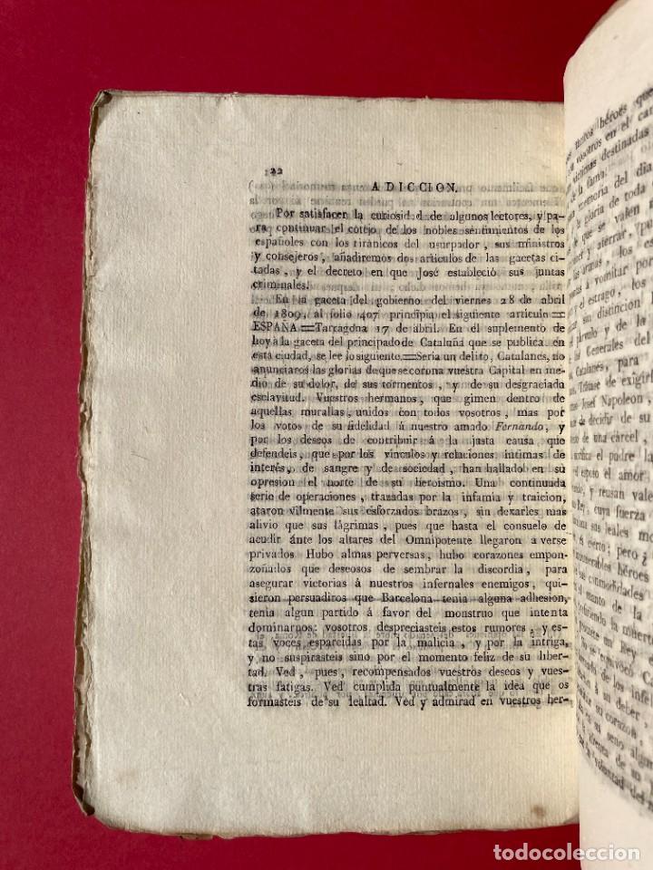Libros antiguos: 1814 - COTEJO DE LA AUDENCIA DE BARCELONA CON LA CHANCILLERIA DE GRANADA - GUERRA DE INDEPENDENCIA - Foto 6 - 244872595