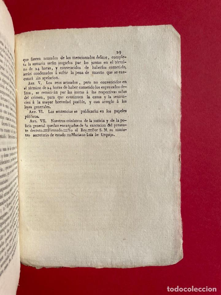 Libros antiguos: 1814 - COTEJO DE LA AUDENCIA DE BARCELONA CON LA CHANCILLERIA DE GRANADA - GUERRA DE INDEPENDENCIA - Foto 7 - 244872595