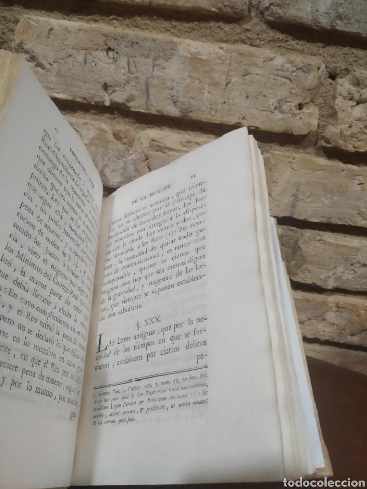 Libros antiguos: LOPEZ DE OLIVER Y MEDRANO, D. Antonio. Verdadera idea de un Príncipe, Leyes del Reyno. 1786. - Foto 3 - 244950380