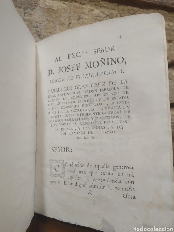 Libros antiguos: LOPEZ DE OLIVER Y MEDRANO, D. Antonio. Verdadera idea de un Príncipe, Leyes del Reyno. 1786. - Foto 6 - 244950380