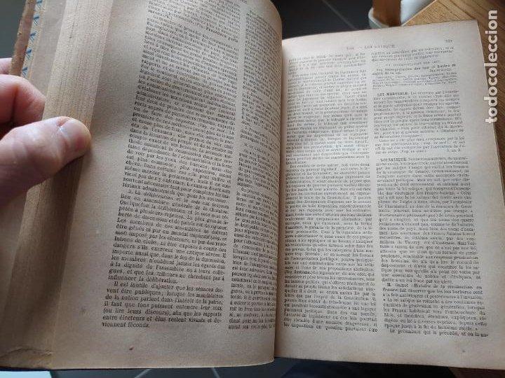 Libros antiguos: DICTIONNAIRE GENERAL DE LA POLITIQUE. BLOCK Maurice. Paris, ed. Lorenz 1880 RARE - Foto 12 - 245902610