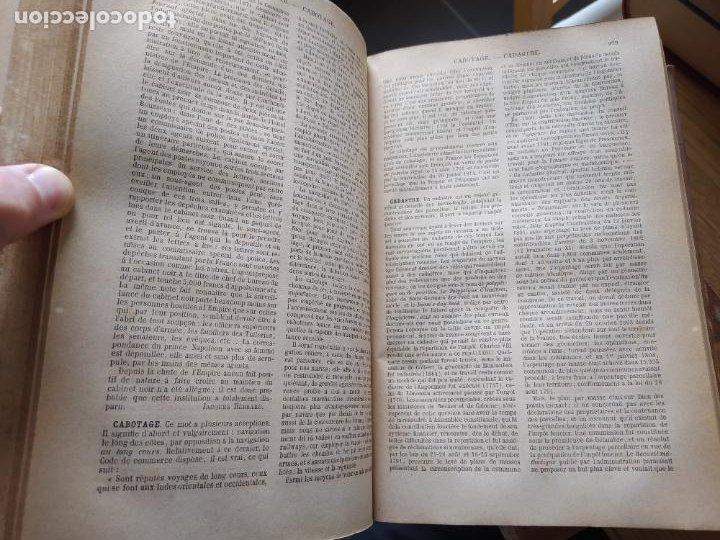Libros antiguos: DICTIONNAIRE GENERAL DE LA POLITIQUE. BLOCK Maurice. Paris, ed. Lorenz 1880 RARE - Foto 13 - 245902610