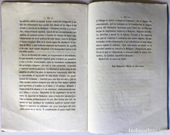 Libros antiguos: REPRESENTACION HECHA Á LAS CORTES CONSTITUYENTES, CONTRA LA BASE SEGUNDA DEL PROYECTO DE... - Foto 4 - 246880195