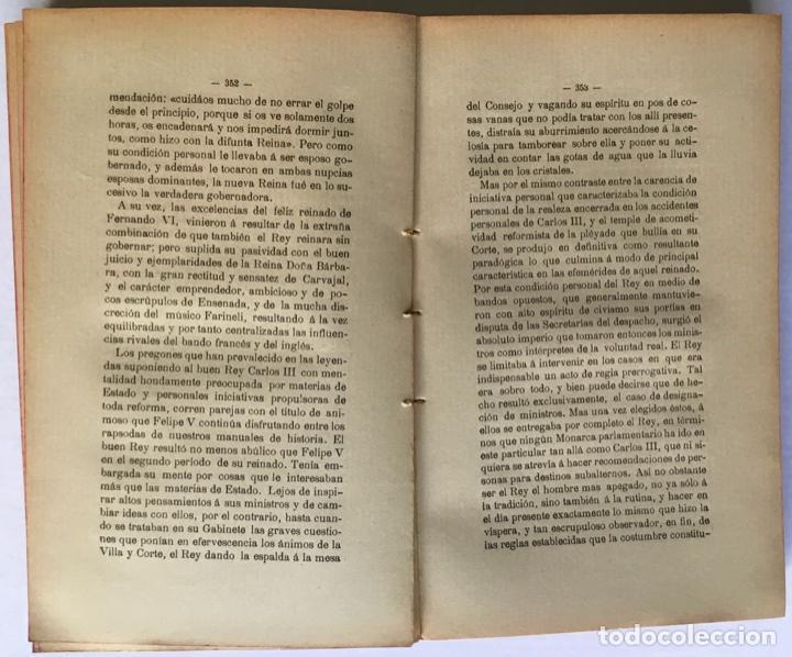 Libros antiguos: LA CRISIS DE NUESTRO PARLAMENTARISMO. - SÁNCHEZ DE TOCA, Joaquín. - Foto 4 - 249494420