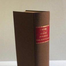 Libros antiguos: LA CRISIS DE NUESTRO PARLAMENTARISMO. - SÁNCHEZ DE TOCA, JOAQUÍN.. Lote 251331915