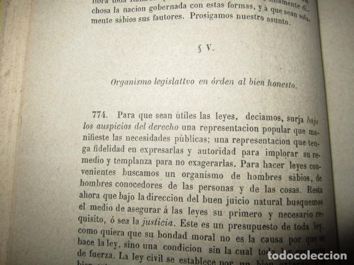 Libros antiguos: EXAMEN CRITICO DEL GOBIERNO REPRESENTATIVO LUIS TAPARELLI 1867 MADRID TOMO II - Foto 6 - 251592400