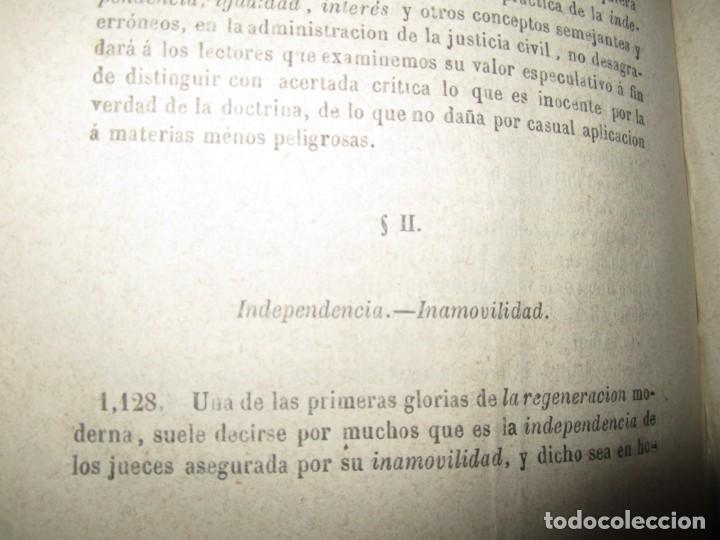 Libros antiguos: EXAMEN CRITICO DEL GOBIERNO REPRESENTATIVO LUIS TAPARELLI 1867 MADRID TOMO II - Foto 7 - 251592400