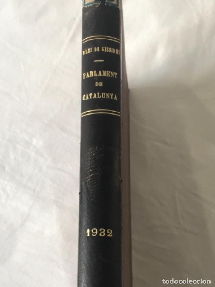 DIARI DE SESSIONS DEL PARLAMENT DE CATALUNYA, 1932. 12 NÚMEROS LLUÍS COMPANYS. (Libros Antiguos, Raros y Curiosos - Pensamiento - Política)