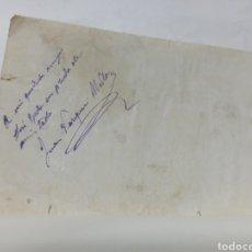 Libros antiguos: AUTOGRAFO CON DEDICATORIA Y FIRMA DE POLÍTICO JUAN VAZQUEZ DE MELLA 1915 EL IDEAL DE ESPAÑA DISCURSO. Lote 252014525