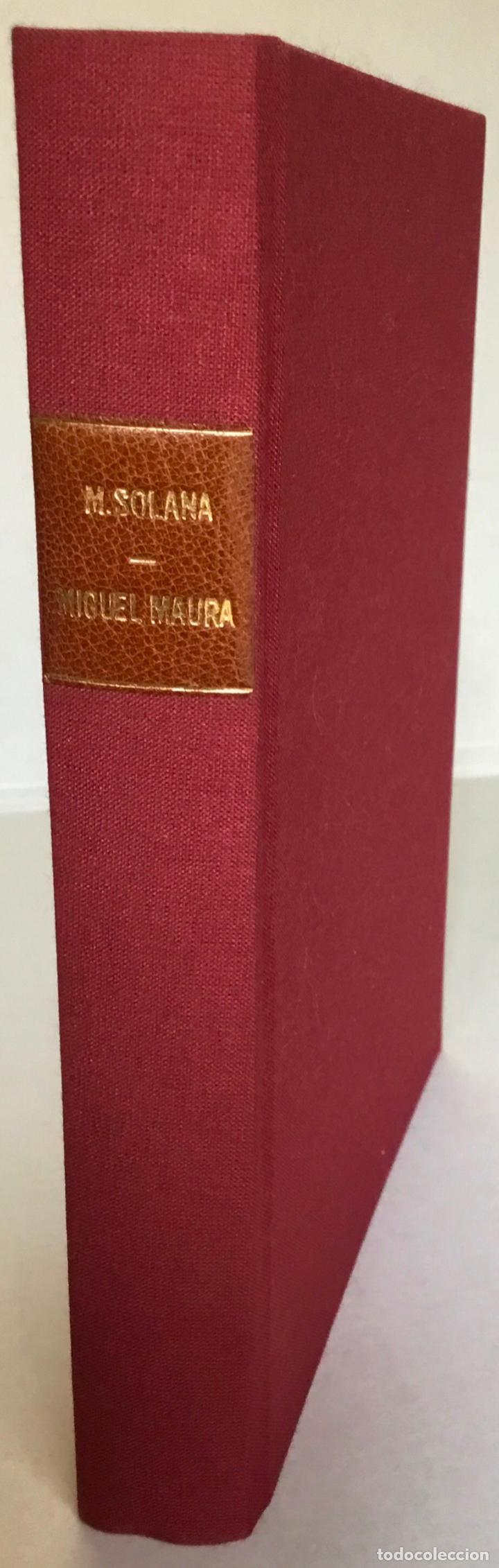 Libros antiguos: MIGUEL MAURA Y LA DISOLUCIÓN DE LAS ÓRDENES RELIGIOSAS EN LA CONSTITUCIÓN ESPAÑOLA. - SOLANA Y GUTIÉ - Foto 2 - 123249215