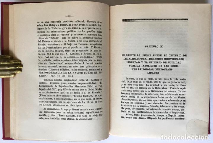Libros antiguos: MIGUEL MAURA Y LA DISOLUCIÓN DE LAS ÓRDENES RELIGIOSAS EN LA CONSTITUCIÓN ESPAÑOLA. - SOLANA Y GUTIÉ - Foto 5 - 123249215