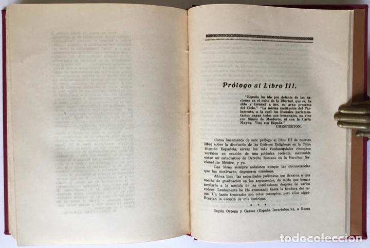 Libros antiguos: MIGUEL MAURA Y LA DISOLUCIÓN DE LAS ÓRDENES RELIGIOSAS EN LA CONSTITUCIÓN ESPAÑOLA. - SOLANA Y GUTIÉ - Foto 8 - 123249215