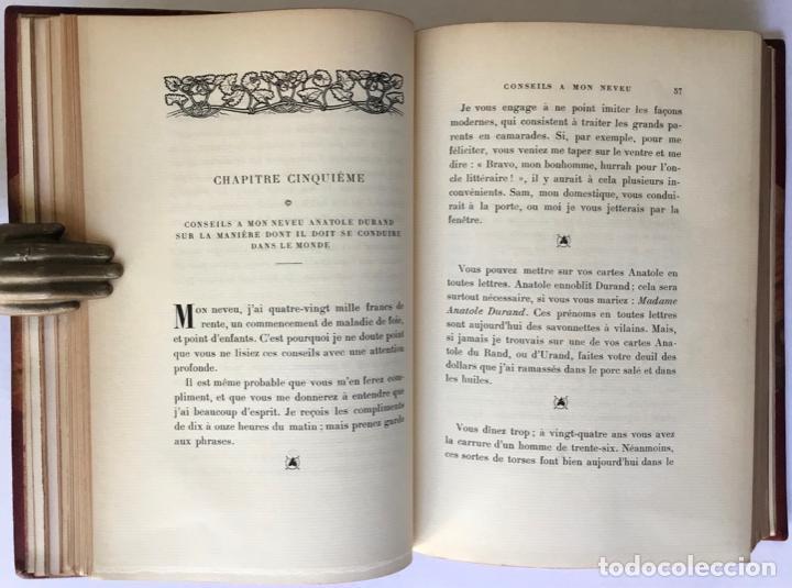 Libros antiguos: VIE ET OPINIONS DE M. FRÉDÉRIC-THOMAS GRAINDORGE. Notes sur Paris. Recueillies et publiées par... - Foto 5 - 260813910