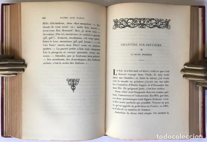 Libros antiguos: VIE ET OPINIONS DE M. FRÉDÉRIC-THOMAS GRAINDORGE. Notes sur Paris. Recueillies et publiées par... - Foto 7 - 260813910