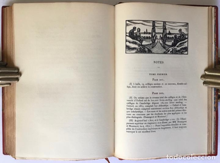 Libros antiguos: NOTES SUR LANGLETERRE. - TAINE, Hippolyte. - Foto 12 - 260816095