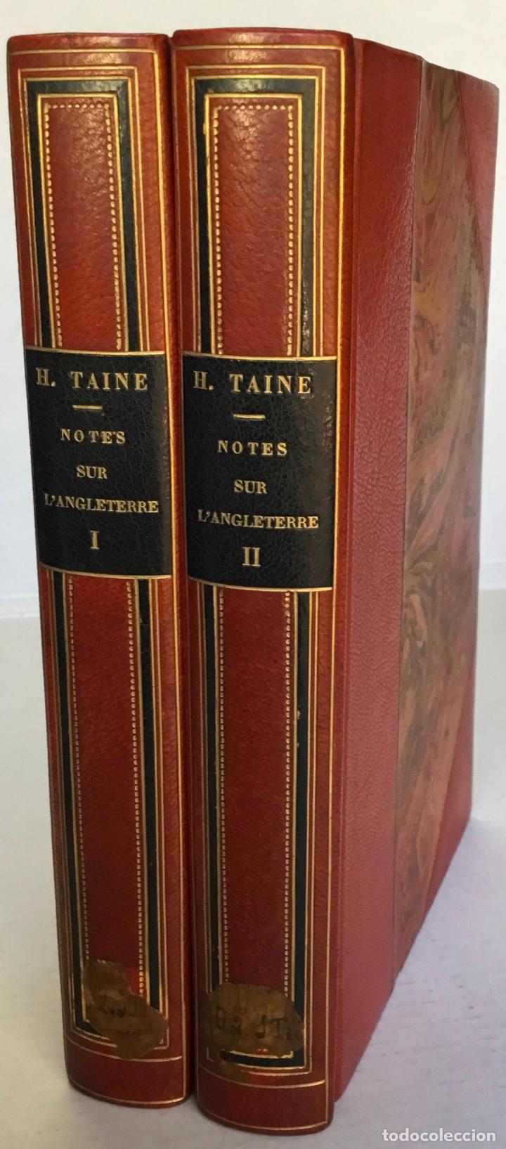 NOTES SUR L'ANGLETERRE. - TAINE, HIPPOLYTE. (Libros Antiguos, Raros y Curiosos - Pensamiento - Política)
