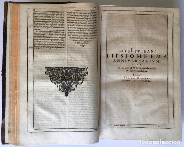 Libros antiguos: IUSTI LIPSI OPERA, QUAE VELUT IN PARTES ANTÈ SPARSA, NUNC IN CERTAS CLASSES DIGESTA... - LIPSIUS, J. - Foto 6 - 262184660