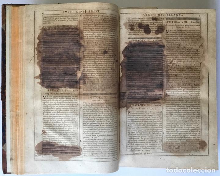 Libros antiguos: IUSTI LIPSI OPERA, QUAE VELUT IN PARTES ANTÈ SPARSA, NUNC IN CERTAS CLASSES DIGESTA... - LIPSIUS, J. - Foto 8 - 262184660