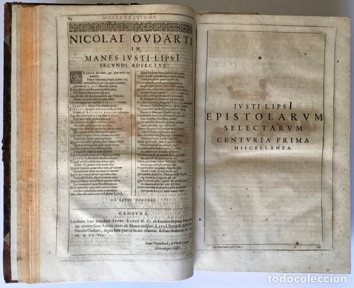 Libros antiguos: IUSTI LIPSI OPERA, QUAE VELUT IN PARTES ANTÈ SPARSA, NUNC IN CERTAS CLASSES DIGESTA... - LIPSIUS, J. - Foto 9 - 262184660