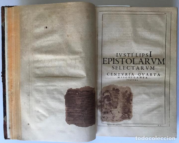 Libros antiguos: IUSTI LIPSI OPERA, QUAE VELUT IN PARTES ANTÈ SPARSA, NUNC IN CERTAS CLASSES DIGESTA... - LIPSIUS, J. - Foto 12 - 262184660