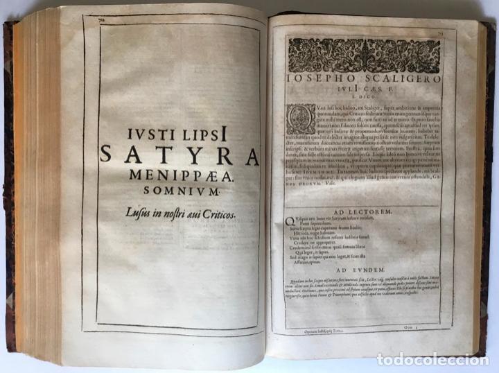 Libros antiguos: IUSTI LIPSI OPERA, QUAE VELUT IN PARTES ANTÈ SPARSA, NUNC IN CERTAS CLASSES DIGESTA... - LIPSIUS, J. - Foto 24 - 262184660