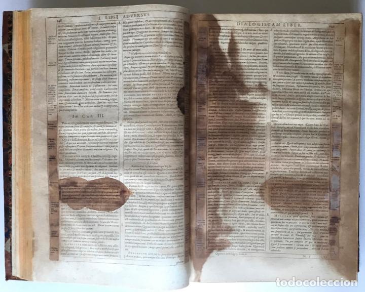 Libros antiguos: IUSTI LIPSI OPERA, QUAE VELUT IN PARTES ANTÈ SPARSA, NUNC IN CERTAS CLASSES DIGESTA... - LIPSIUS, J. - Foto 32 - 262184660