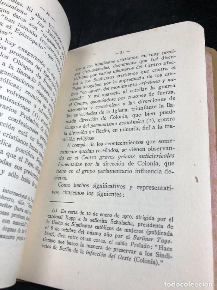 Libros antiguos: Alemania en Bélgica a la luz de las doctrinas de la Iglesia 1915 Carta Emilio Prüm Matías Erzberger - Foto 5 - 267130334
