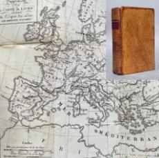 Libri antichi: 1819 - OEUVRES COMPLETES DE MONTESQUIEU - ESPIRITU DE LAS NACIONES - MAPA. Lote 267230179