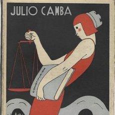 Libros antiguos: HACIENDO LA REPÚBLICA-JULIO CAMBA. ESPASA CALPE 1934 - CAMBA, JULIO. Lote 268752359