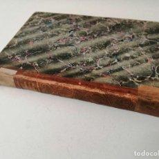 Libros antiguos: RETRATO DE UN JEFE POLITICO MARIANO ALONSO 1845 MUY RARO. Lote 269157723