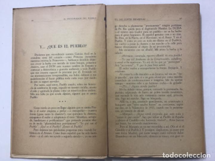 Libros antiguos: DON ERNESTO O EL PROCURADOR DEL PUEBLO EN LAS CORTES ESPAÑOLAS. - GIMÉNEZ CABALLERO, Ernesto. - Foto 4 - 123194516