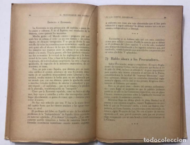 Libros antiguos: DON ERNESTO O EL PROCURADOR DEL PUEBLO EN LAS CORTES ESPAÑOLAS. - GIMÉNEZ CABALLERO, Ernesto. - Foto 5 - 123194516