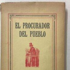 Libros antiguos: DON ERNESTO O EL PROCURADOR DEL PUEBLO EN LAS CORTES ESPAÑOLAS. - GIMÉNEZ CABALLERO, ERNESTO.. Lote 123194516
