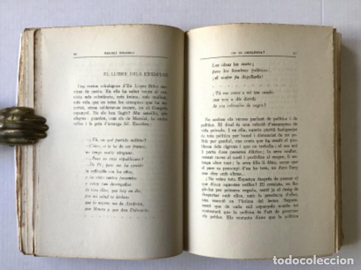 Libros antiguos: ON VA CATALUNYA? - DOMINGO, Marcelí. - Foto 3 - 123182424