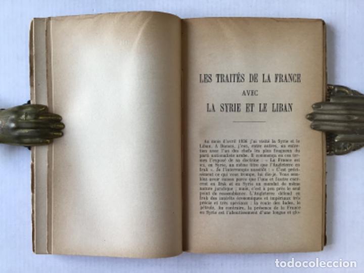 Libros antiguos: FIÉVRES DORIENT. ÉGYPTE. SYRIE. PALESTINE. LIBAN. ARABIE. ALEXANDRETTE. - PINON, René. - Foto 4 - 123231020