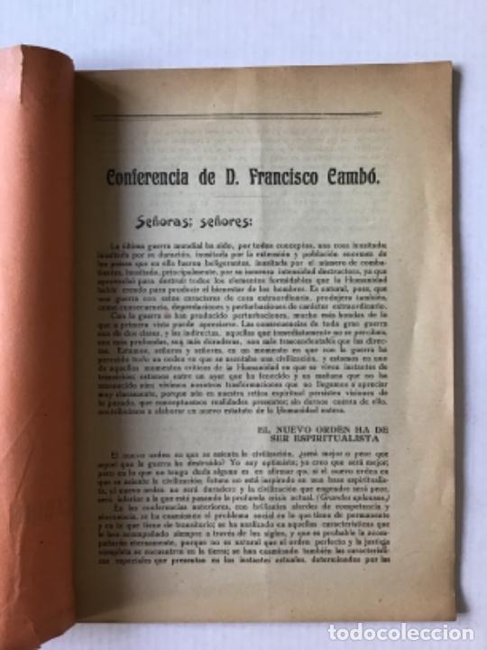 Libros antiguos: CURSO DE CONFERENCIAS SOCIALES ORGANIZADO POR EL DEBATE. Sexta conferencia pronunciada en el Teatro - Foto 2 - 123170163