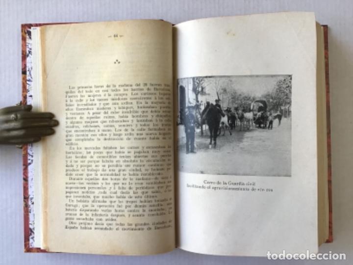 Libros antiguos: LA SEMANA TRÁGICA. Relato de la sedición é incendios en Barcelona y Cataluña. - RIERA, Augusto. - Foto 3 - 123237486