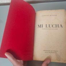 Libros antiguos: LIBRO MI LUCHA MEIN KAMPF ADOLF HITLER COMPLETO EDIT. NACIONALSOCIALISTA 1937?. Lote 277760658
